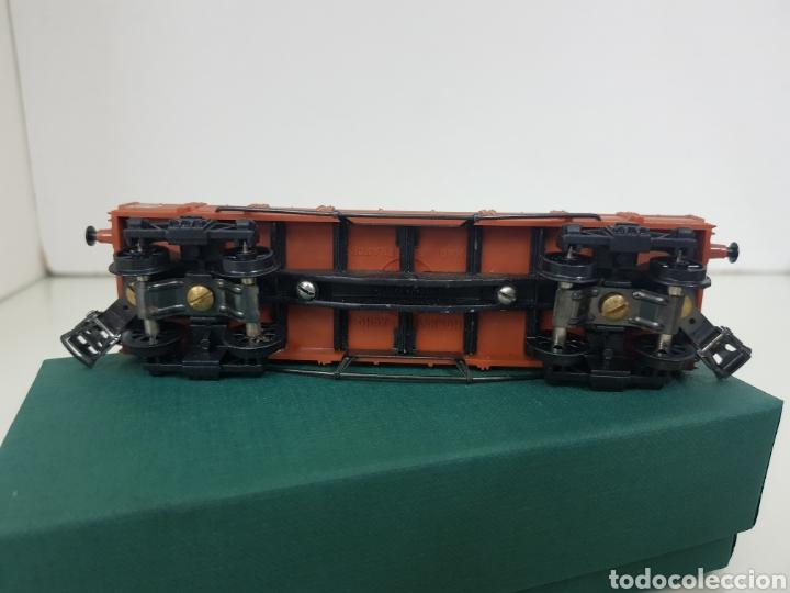 Trenes Escala: Vagón de mercancías abierto de perfil bajo de la SNCF francesa Hornby Meccano de 14 centímetros - Foto 5 - 156994232