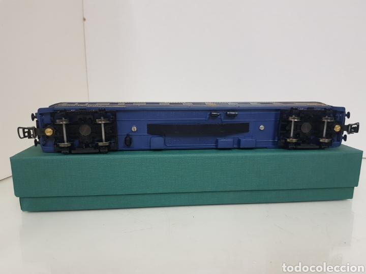 Trenes Escala: Vagón largo restaurante alemán Hornby Acho azul 26 cm - Foto 6 - 157366762