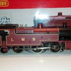 Trenes Escala: HORNBY 00 - (H0) R2224 LOCOMOTORA DE VAPOR CLASS 4P FOWLER 2-6-4T LMS IMPECABLE. Lote 159798478