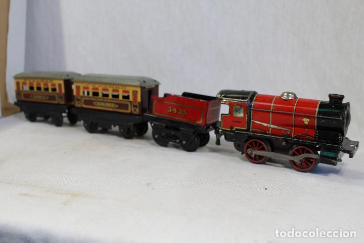 HORNBY TRAIN SET MADE IN ENGLAND, TREN ANTIGUO , JUGUETE ANTIGUO (Juguetes - Trenes Escala H0 - Hornby H0)