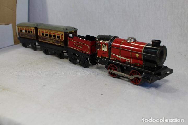 Trenes Escala: HORNBY TRAIN SET MADE IN ENGLAND, TREN ANTIGUO , JUGUETE ANTIGUO - Foto 5 - 162663334