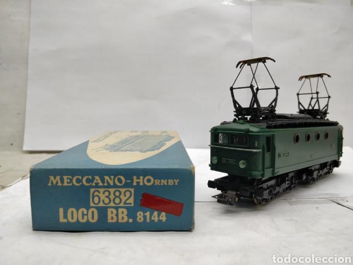 Trenes Escala: Meccano HOrnby Ref: 6382 - Locomotora eléctrica de corriente continua con 2 motores SNCF BB.8144 - Foto 3 - 165463912