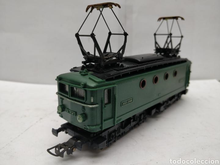 Trenes Escala: Meccano HOrnby Ref: 6382 - Locomotora eléctrica de corriente continua con 2 motores SNCF BB.8144 - Foto 4 - 165463912