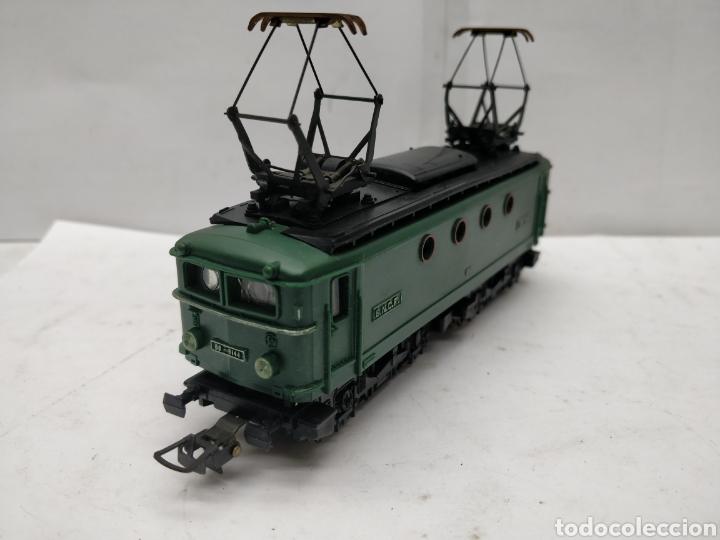 Trenes Escala: Meccano HOrnby Ref: 6382 - Locomotora eléctrica de corriente continua con 2 motores SNCF BB.8144 - Foto 5 - 165463912