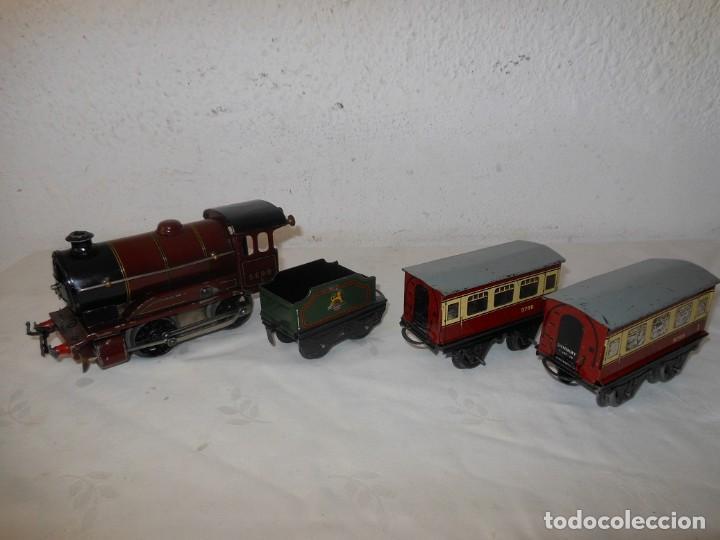 ANTIGUO TREN A CUERDA HORNBY 5600 (Juguetes - Trenes Escala H0 - Hornby H0)