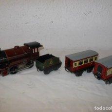 Trenes Escala: ANTIGUO TREN A CUERDA HORNBY 5600 . Lote 165626930