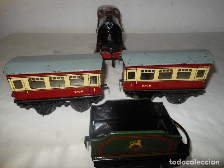Trenes Escala: ANTIGUO TREN A CUERDA HORNBY 5600 - Foto 2 - 165626930