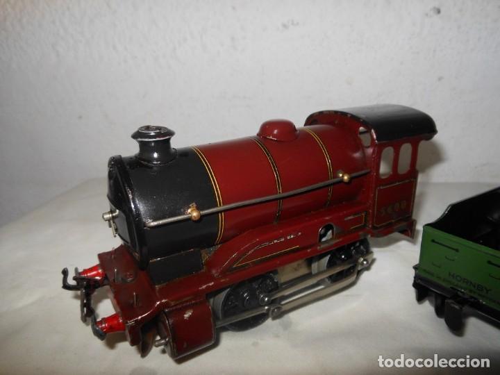 Trenes Escala: ANTIGUO TREN A CUERDA HORNBY 5600 - Foto 4 - 165626930