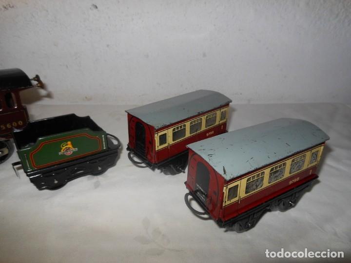 Trenes Escala: ANTIGUO TREN A CUERDA HORNBY 5600 - Foto 6 - 165626930