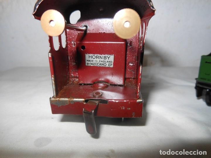Trenes Escala: ANTIGUO TREN A CUERDA HORNBY 5600 - Foto 10 - 165626930
