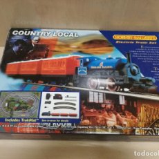 Trenes Escala: TREN HORNBY RAILWAYS COUNTRY LOCAL R904 (FUNCIONANDO). Lote 167947176