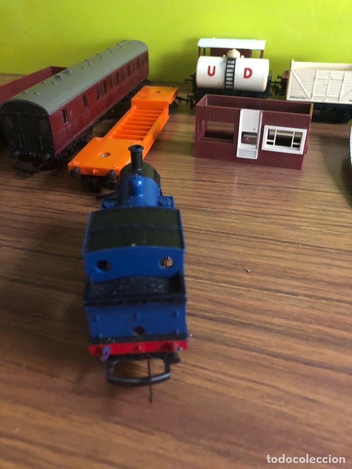 Trenes Escala: TRI-ANG RAILWAYS-LOCOMOTORAS Y VAGONES. - Foto 9 - 170525420