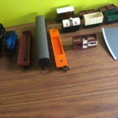 Trenes Escala: TRI-ANG RAILWAYS-LOCOMOTORAS Y VAGONES.. Lote 170525420