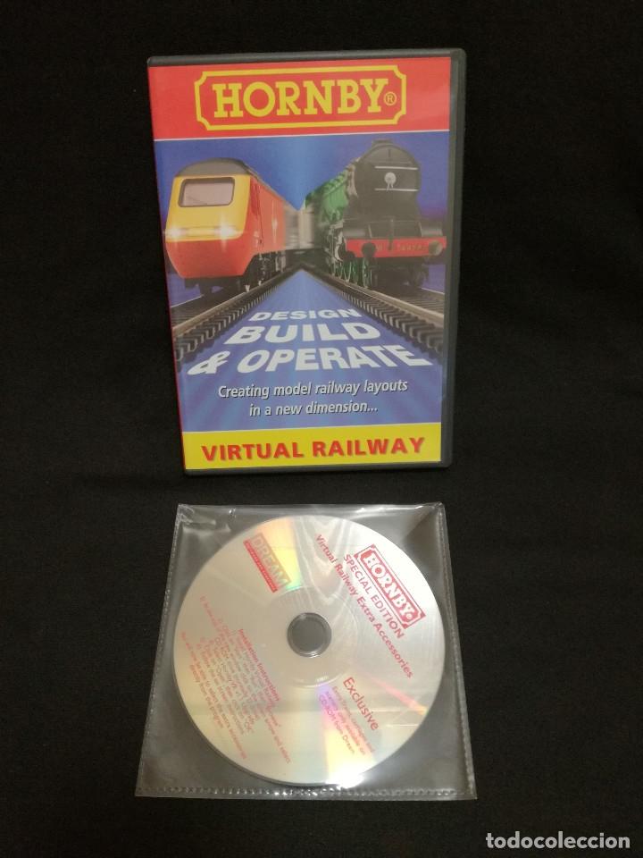 2 CDROM - TRENES HORNBY - VIRTUAL RAILWAY EXTRA ACCESORIES (Juguetes - Trenes Escala H0 - Hornby H0)