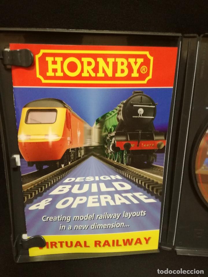Trenes Escala: 2 CDROM - TRENES HORNBY - VIRTUAL RAILWAY EXTRA ACCESORIES - Foto 4 - 172701713