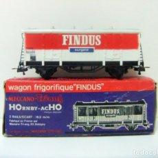Trenes Escala: WAGON FRIGORIFIQUE FINDUS HORNBY-ACHO MECCANO-TRIANG REF. 7131 - H0 VAGÓN FRIGORÍFICO TREN HO . Lote 177061713