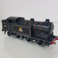 Trenes Escala: LOCOMOTORA DE VAPOR CONTINUA THE LAST BRITISH RAILWAYS ESCALA H0 HORNBY 15 CM. Lote 177391457