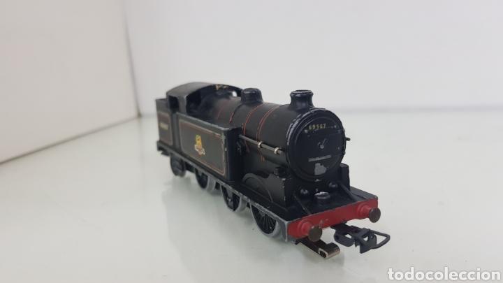 Trenes Escala: Locomotora de vapor 69567 British railways escala H0 3 continua hornby de 15cms - Foto 4 - 177391622