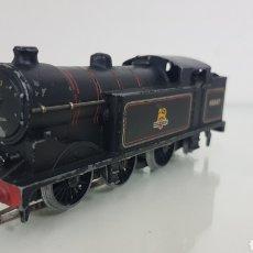 Trenes Escala: LOCOMOTORA DE VAPOR 69567 BRITISH RAILWAYS ESCALA H0 3 CONTINUA HORNBY DE 15CMS. Lote 177391622