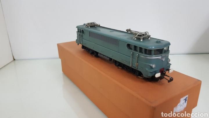 Trenes Escala: Acho hornby locomotora de la SNCF francesa BB 16009 escala H0 continua de 19 cm en verde - Foto 2 - 182981103