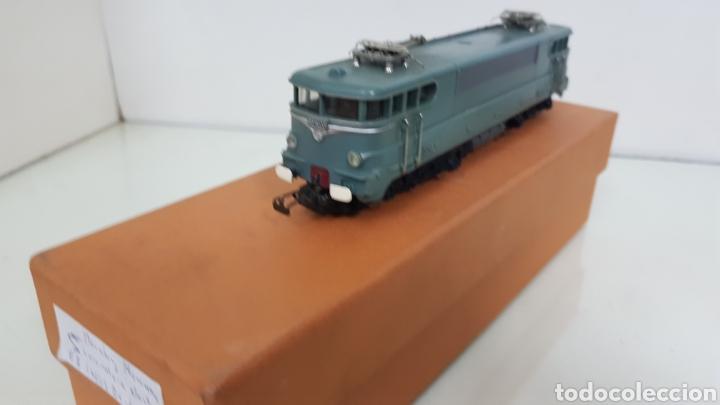 Trenes Escala: Acho hornby locomotora de la SNCF francesa BB 16009 escala H0 continua de 19 cm en verde - Foto 4 - 182981103