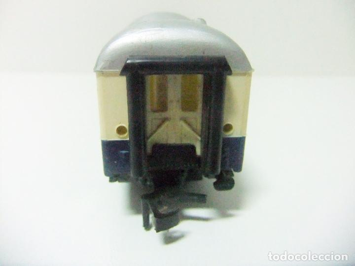 Trenes Escala: VAGÓN RESTAURANTE REF. 7446 + CAJA REF. 7450 HORNBY-ACHO MECCANO RUCO - H0 TYPE RHEINGOLD TREN WAGON - Foto 11 - 189432027