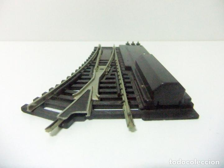 Trenes Escala: DESVÍO VÍA TREN A LA DERECHA HORNBY ACHO - MADE IN FRANCE MECCANO BTE S.G.D.G - ESCALA H0 HO TRENES - Foto 3 - 193181403