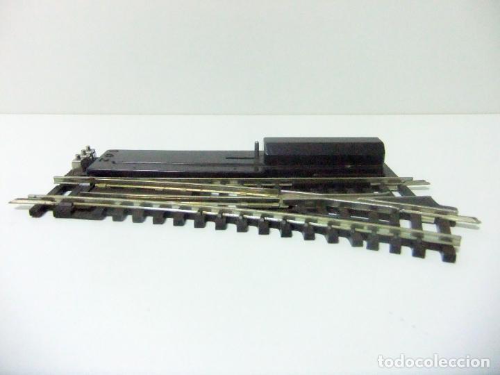 Trenes Escala: DESVÍO VÍA TREN A LA DERECHA HORNBY ACHO - MADE IN FRANCE MECCANO BTE S.G.D.G - ESCALA H0 HO TRENES - Foto 4 - 193181403