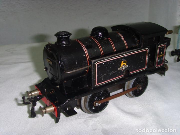 TREN A CUERDA HORNBY TRAIN EN CAJA (Juguetes - Trenes Escala H0 - Hornby H0)