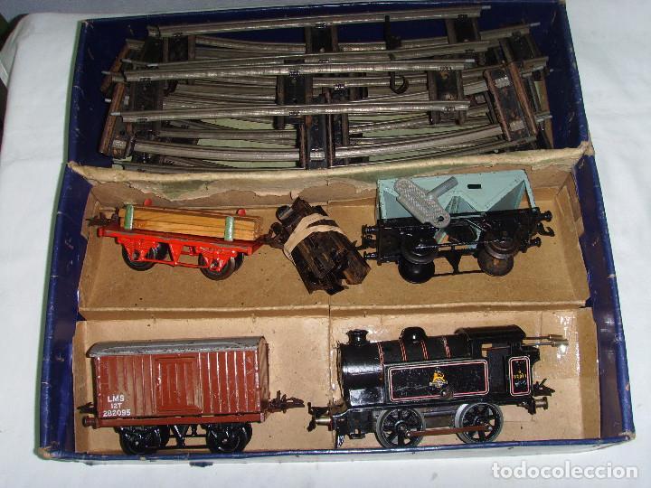 Trenes Escala: TREN A CUERDA HORNBY TRAIN EN CAJA - Foto 3 - 193438301