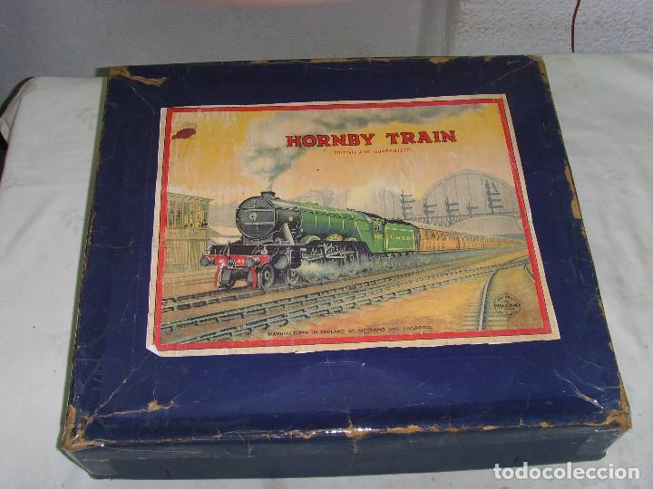 Trenes Escala: TREN A CUERDA HORNBY TRAIN EN CAJA - Foto 7 - 193438301