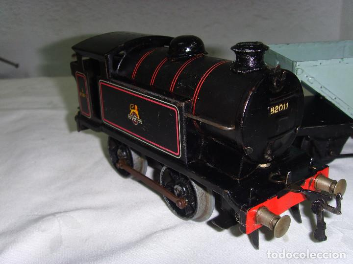 Trenes Escala: TREN A CUERDA HORNBY TRAIN EN CAJA - Foto 9 - 193438301