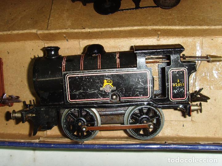 Trenes Escala: TREN A CUERDA HORNBY TRAIN EN CAJA - Foto 18 - 193438301