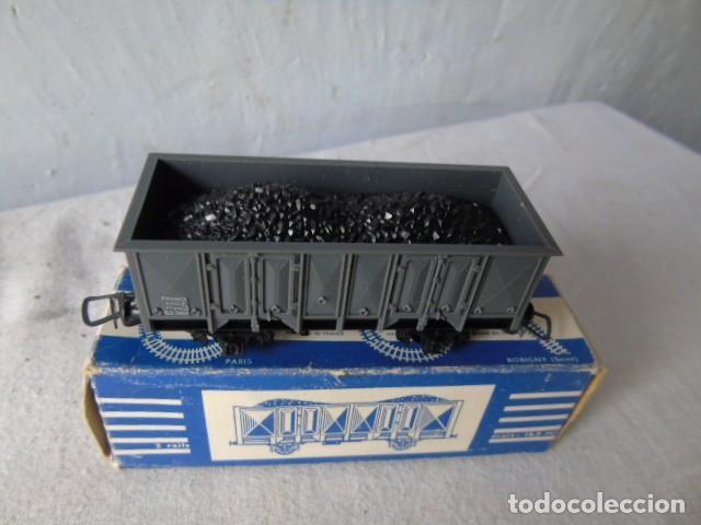 Trenes Escala: vagon carbon locomotora con su caja meccano hornby - Foto 2 - 201112555