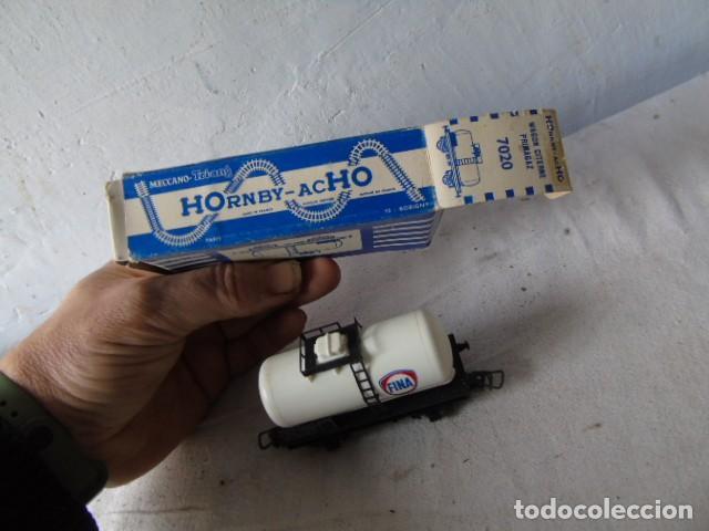 Trenes Escala: vagon tren cisterna fina con su caja meccano hornby - Foto 2 - 201112702