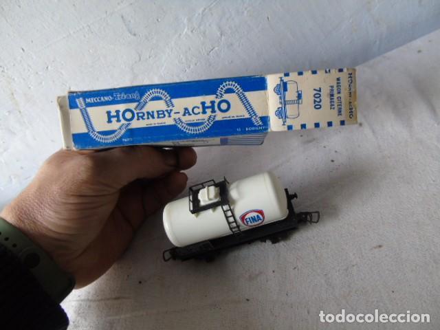 Trenes Escala: vagon tren cisterna fina con su caja meccano hornby - Foto 3 - 201112702
