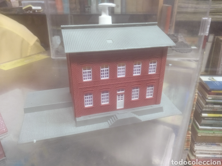 Trenes Escala: Pareja de casas para maqueta de tren - Foto 2 - 209699128