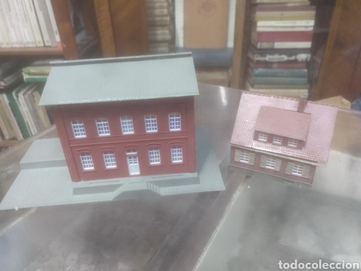Trenes Escala: Pareja de casas para maqueta de tren - Foto 3 - 209699128