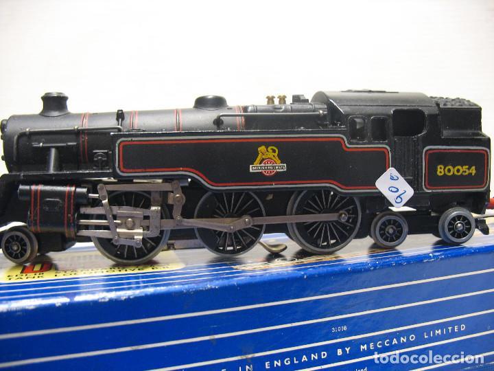 Trenes Escala: locomotora hornby mecano la 80054 de continua 3 railes - Foto 6 - 213825526