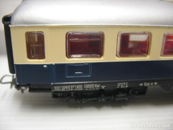 Trenes Escala: set de cinco coches del reingol hornby mecano francia - Foto 2 - 217285657