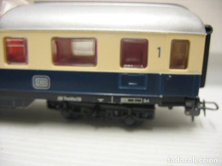 Trenes Escala: set de cinco coches del reingol hornby mecano francia - Foto 4 - 217285657