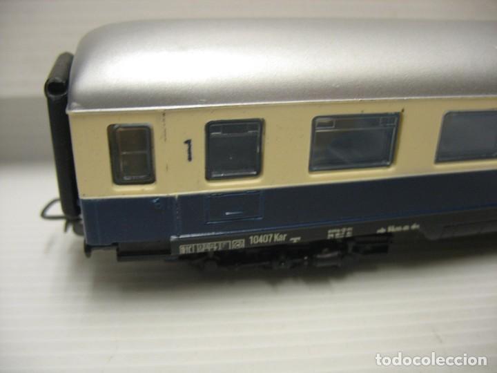 Trenes Escala: set de cinco coches del reingol hornby mecano francia - Foto 6 - 217285657