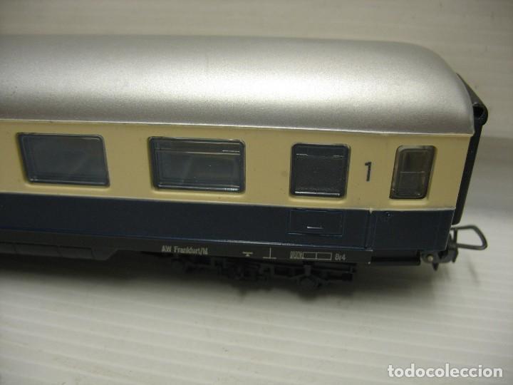 Trenes Escala: set de cinco coches del reingol hornby mecano francia - Foto 7 - 217285657