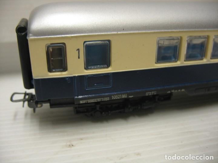 Trenes Escala: set de cinco coches del reingol hornby mecano francia - Foto 9 - 217285657
