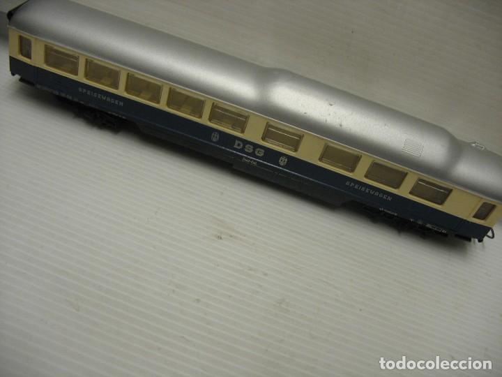 Trenes Escala: set de cinco coches del reingol hornby mecano francia - Foto 13 - 217285657