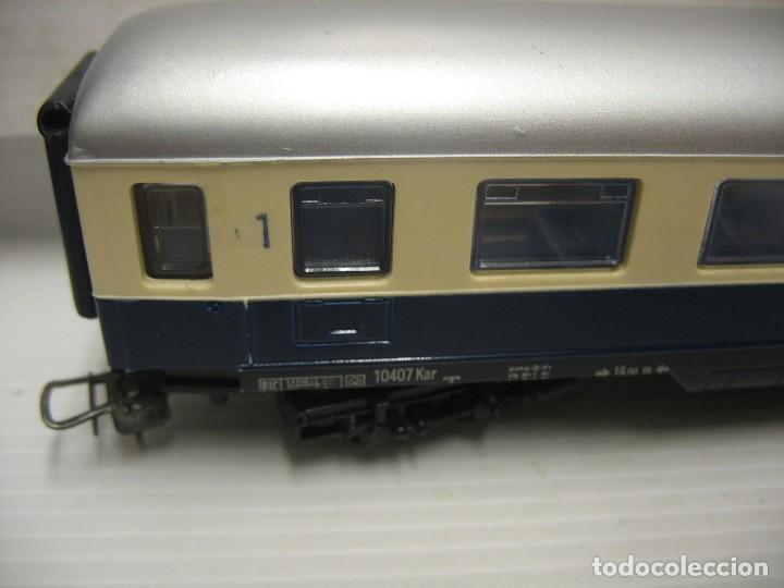Trenes Escala: set de cinco coches del reingol hornby mecano francia - Foto 14 - 217285657