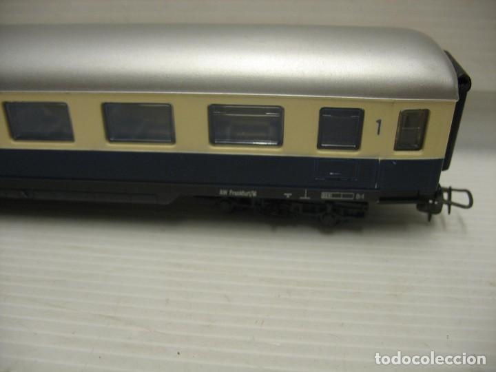 Trenes Escala: set de cinco coches del reingol hornby mecano francia - Foto 15 - 217285657