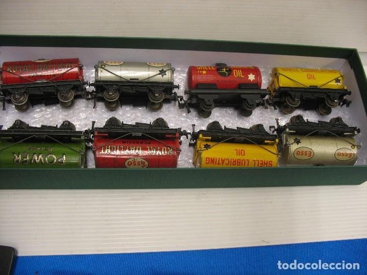 ESTUPENDO CONJUNTO DE OCHO CISTERNAS HORNBY DUBLO (Juguetes - Trenes Escala H0 - Hornby H0)