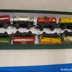 Trenes Escala: ESTUPENDO CONJUNTO DE OCHO CISTERNAS HORNBY DUBLO. Lote 217951475
