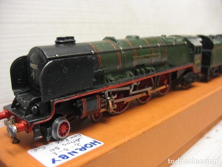 Trenes Escala: locomotora hornby ho con corriente continua a 3 railes HO - Foto 9 - 230576450
